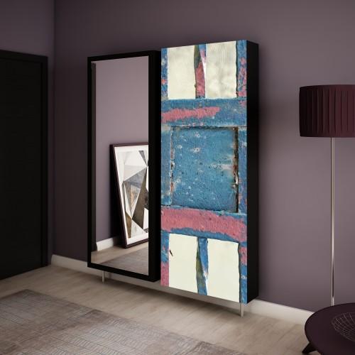 komplet szafek obrotowych swivbox Abstrakcja