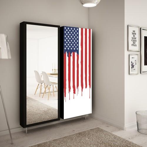 komplet szafek obrotowych swivbox Flaga